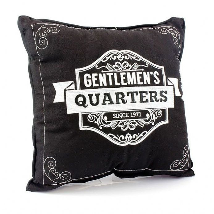 Gentlemen's Quarters Cushion